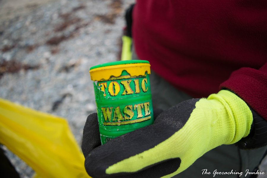 Tyrella beach toxic waste
