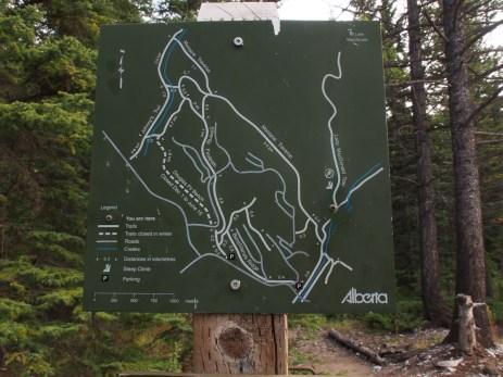 Lady Mac trail sign