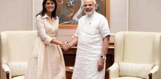 Nikki Haley and Prime Minister Modi