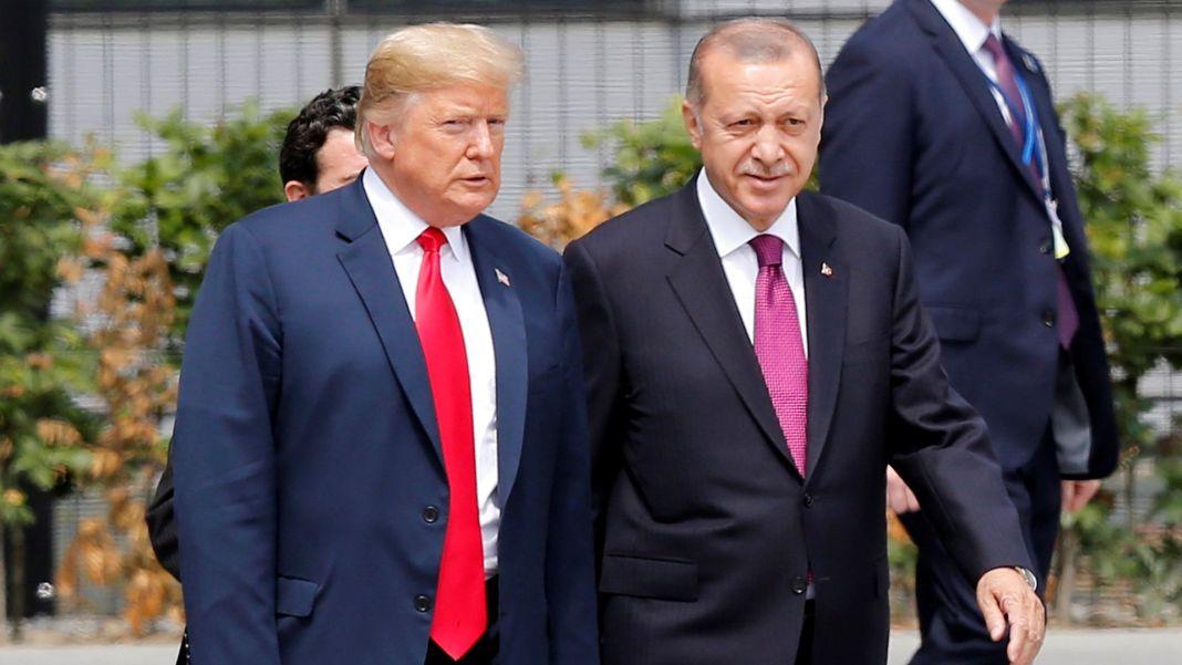 President Donald Trump and Recep Tayyip Erdogan