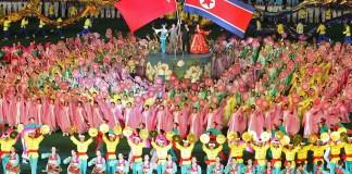 Celebration of North Korea China Friendship