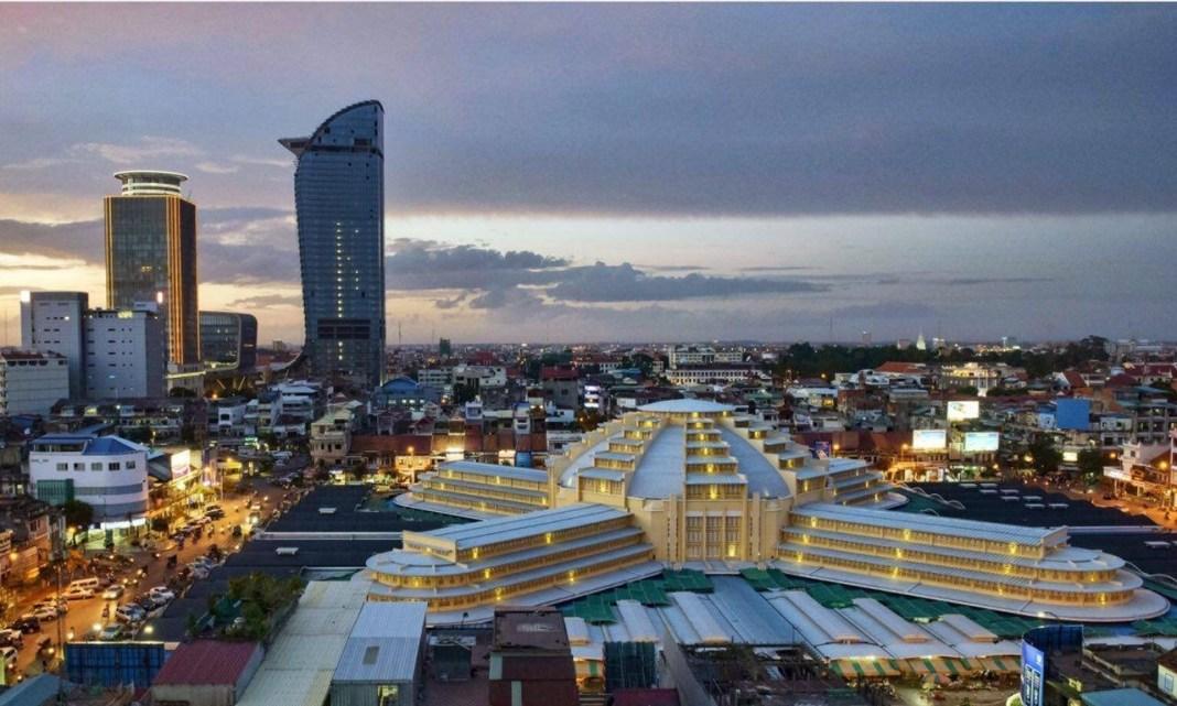 Phnompenh skyline