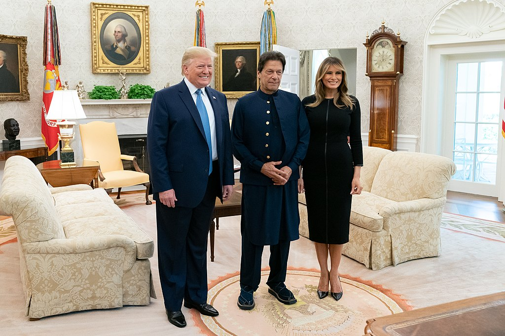 President Trump Meets with the Prime Minister Imran Khan