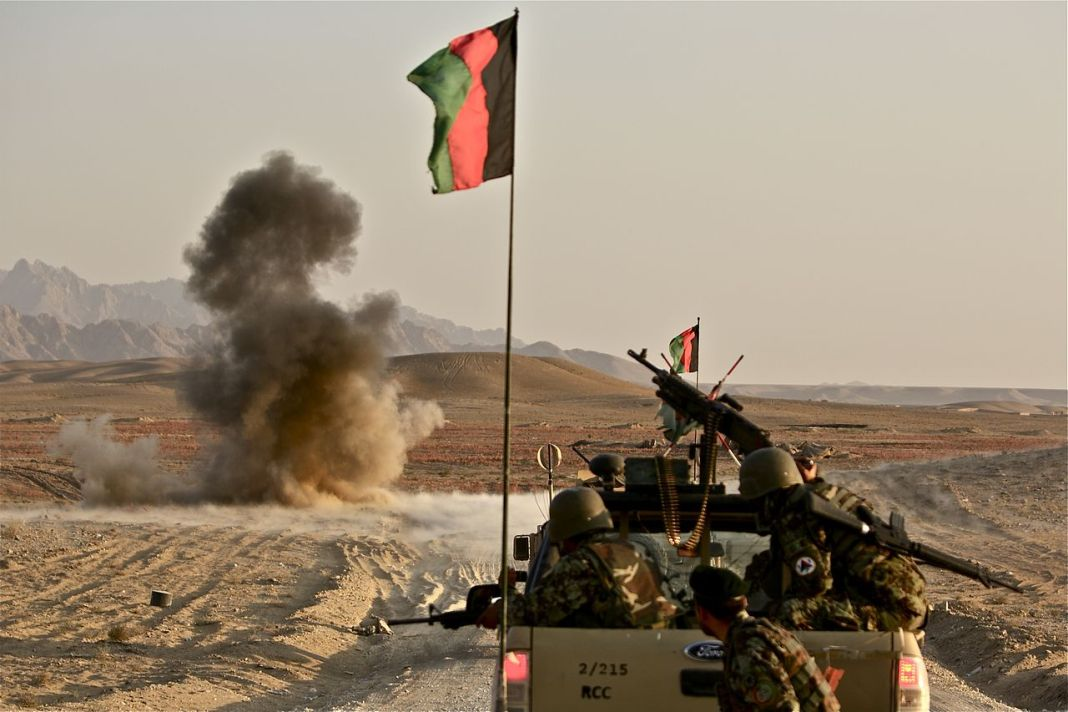 Afghan Army neutralizes IED