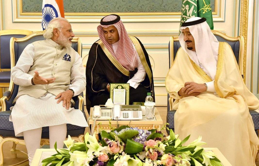 PM Modi with King Salman