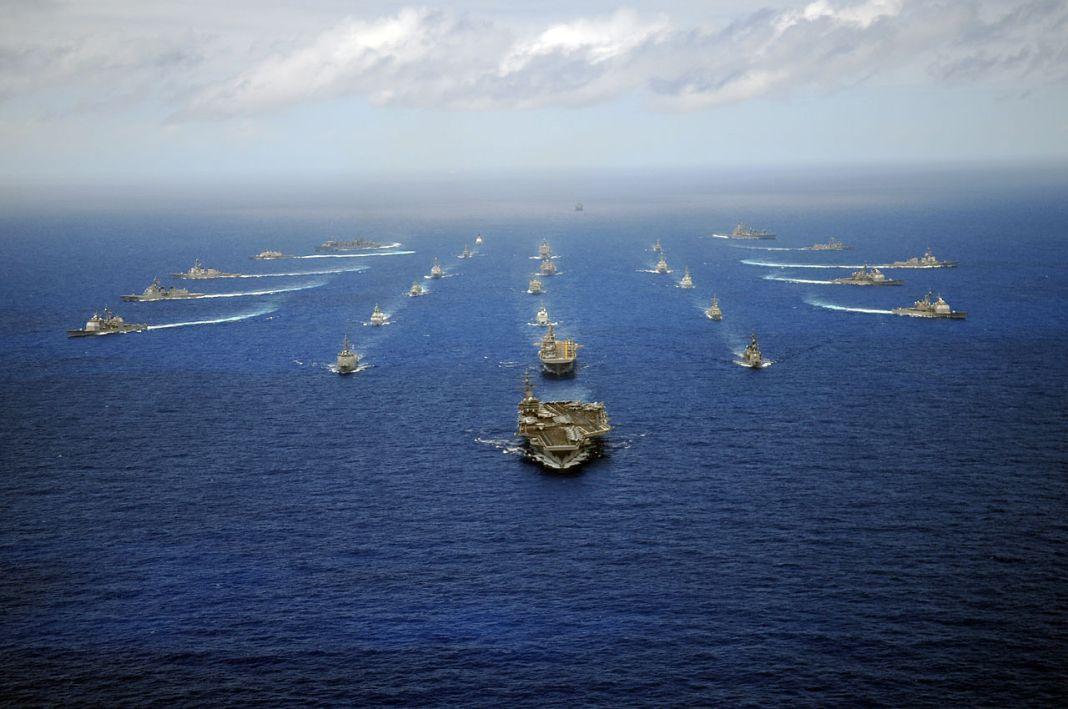 Nimitz-class aircraft carrier USS Ronald Reagan