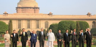 PM Narendra Modi and ASEAN heads of state