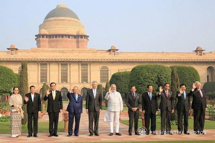 PM Narendra Modi and ASEAN heads of state