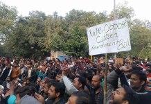 Anti CAA protest