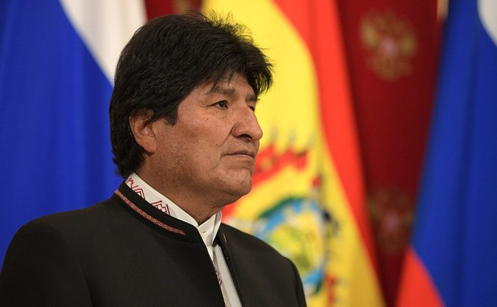 President Evo Morales of Bolivia