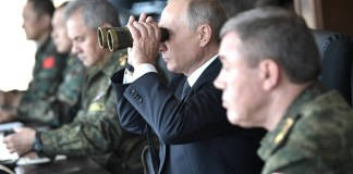 Vladimir Putin observed the main stage of Vostok-2018 military manoeuvres