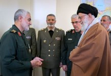 General Qassem Soleimani and Imam Khamenei