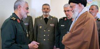 General Qassem Soleimani and Imam Khamenei