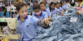 Garment workers of Cambodia