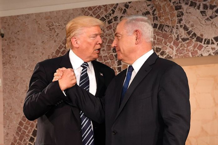 President Donald Trump and PM Netanyahu