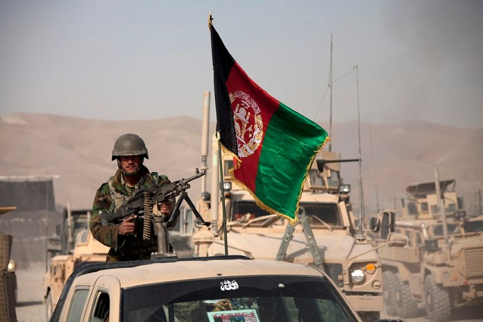 Afghan Army soldier