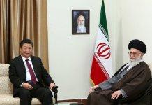 Ali Khamenei and Xi Jinping