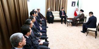 Khamenei and Xi Jinping