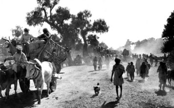 Refugees during partition of India