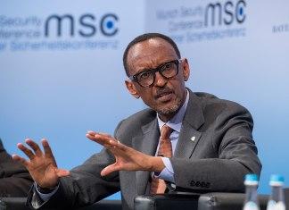 Paul Kagame Rwandan President