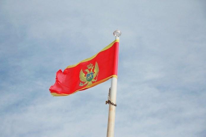 Montenegro national flag