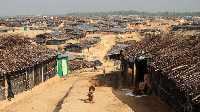 Kutupalong Refugee Camp Cox's Bazar Bangladesh