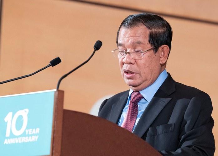 PM Hun Sen of Cambodia