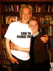 Ian McKellen and Pauline
