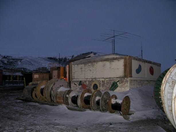 Indoor Hydroponics - McMurdo Ice Station Antarctica