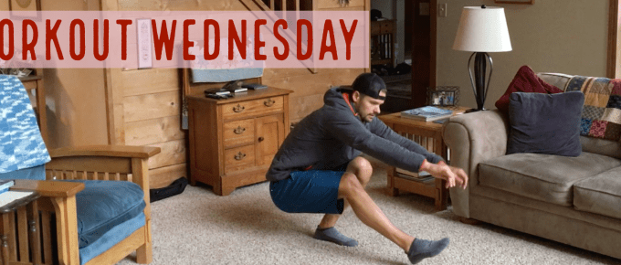 Workout Wednesday - Living Room by Joe Bauer of The Get Better Project