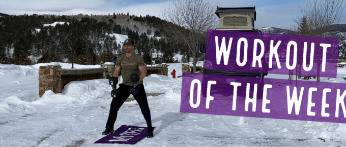 Workout of the Week - Thunder Rock by Joe Bauer at The Get Better Project