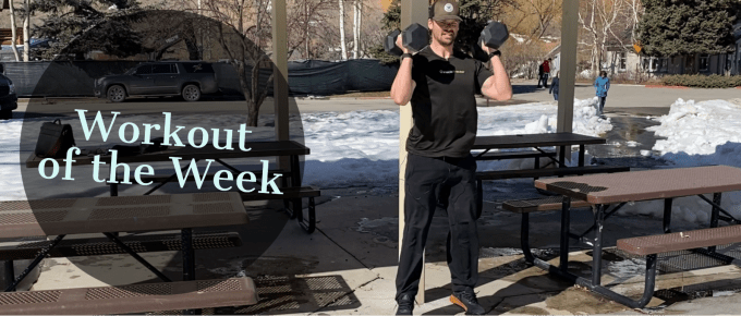 Workout of the Week - Ramp it up by Joe Bauer of The Get Better Project