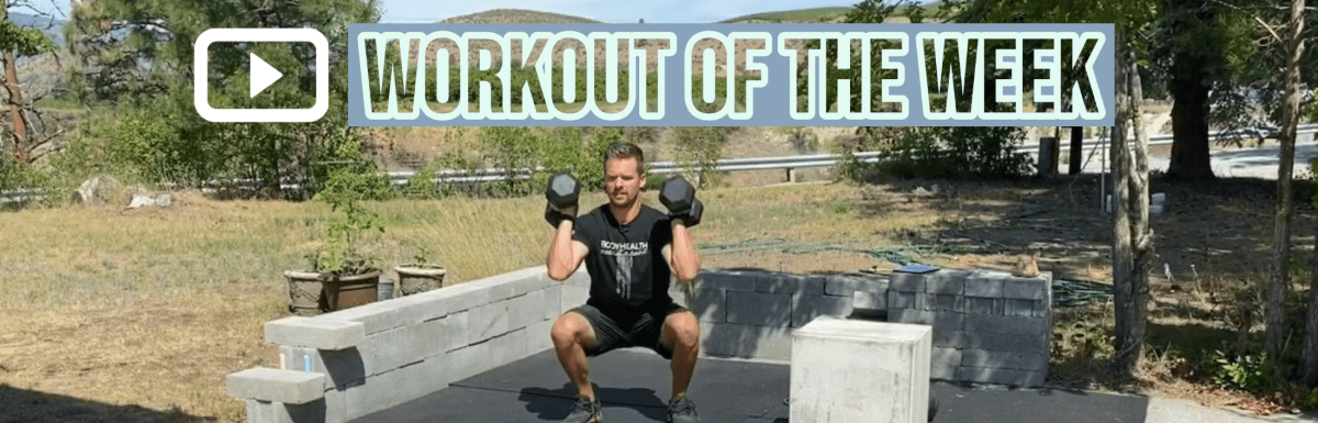 Workout of the Week – Cluster Buster