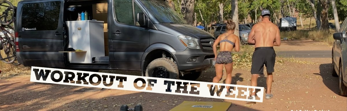 Workout of the Week - Solid by Joe Bauer running in Zion