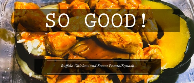 Buffalo Chicken and Sweet Potato-Squash by Emily Kramer Instant Pot master