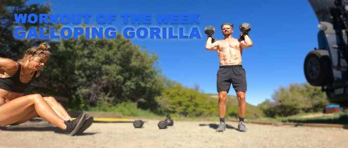 Workout of the Week - Galloping Gorilla Joe Bauer and Emily Kramer in the campground