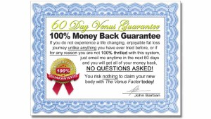 The Venus Factor Money Back Guarantee