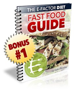 The E-Factor Diet Fast Food Guide