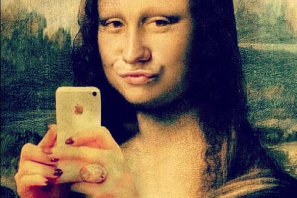 komik-selfie-pozlari-13-monalisa
