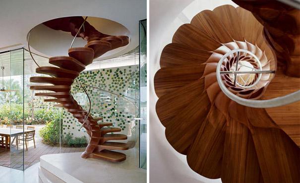 çiçek merdiven