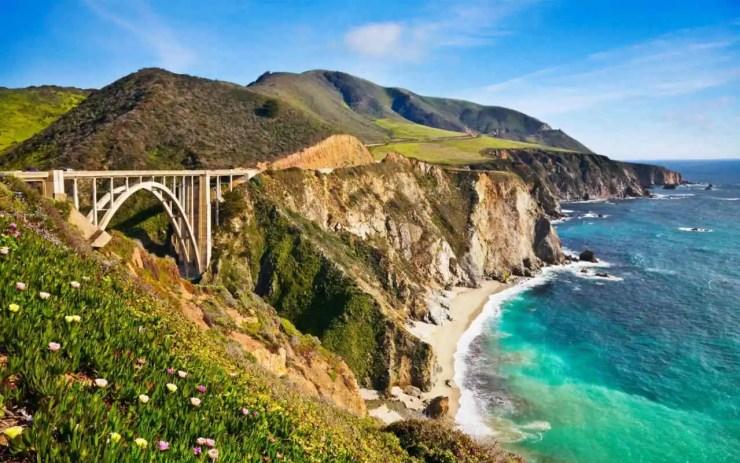 Dünyadan güzel manzara California