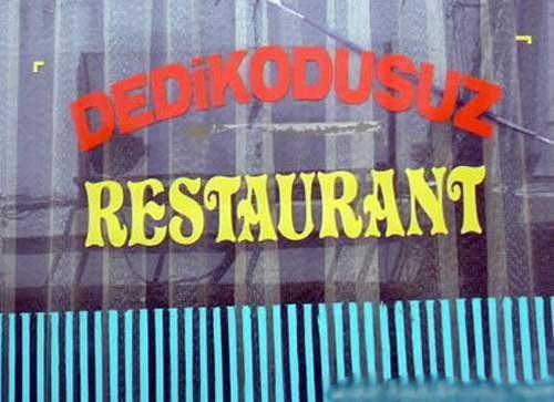 dedikodusuz restaurant