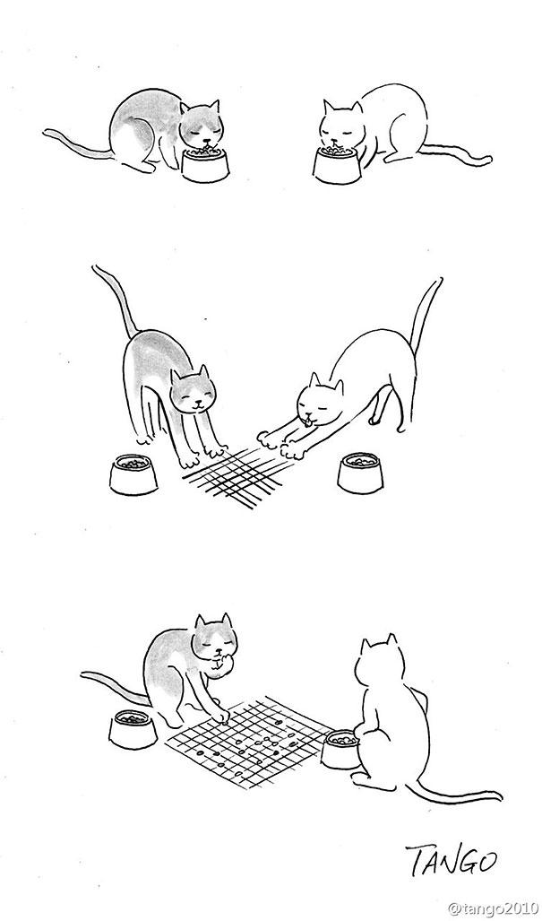 Hayvan komik illüstrasyon2
