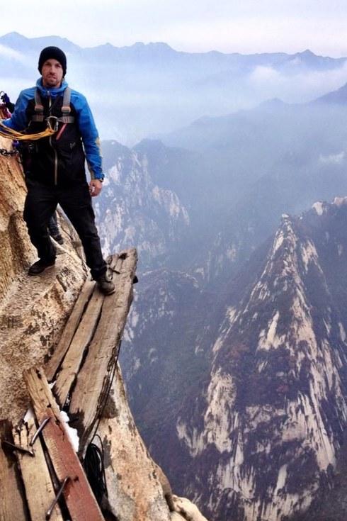 Hua Dağı'na tırmanma