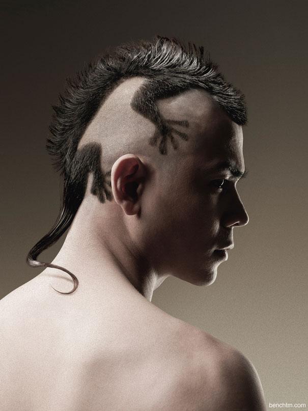Kertenkele Saç