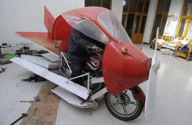 Uçan Motorsiklet