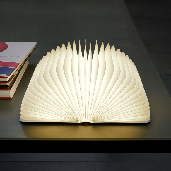 kitap şeklinde lamba