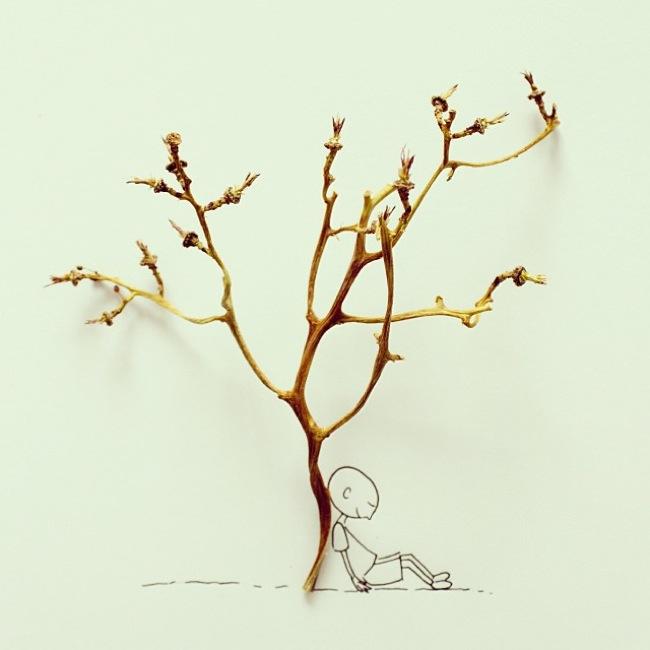 sırt ağaç