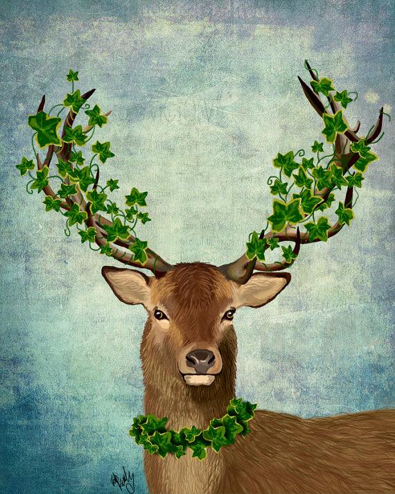nature geyik