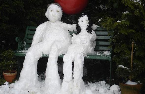 İlginç kardan adamlar12